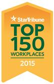 StarTribune Top 150 Workplaces 2015