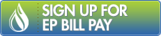 Sign Up for EP Bill Pay