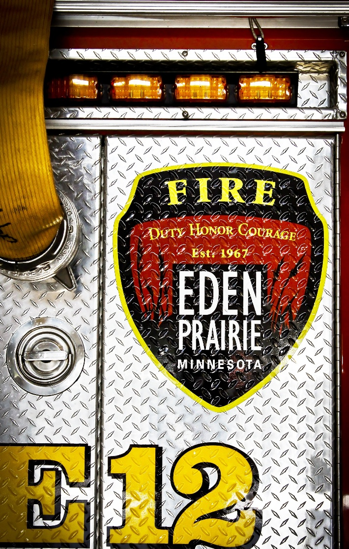 Fire truck badge Engine 12