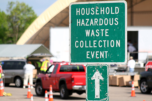 Hazardous Waste Recycling (Courtesy of Hennepin County)