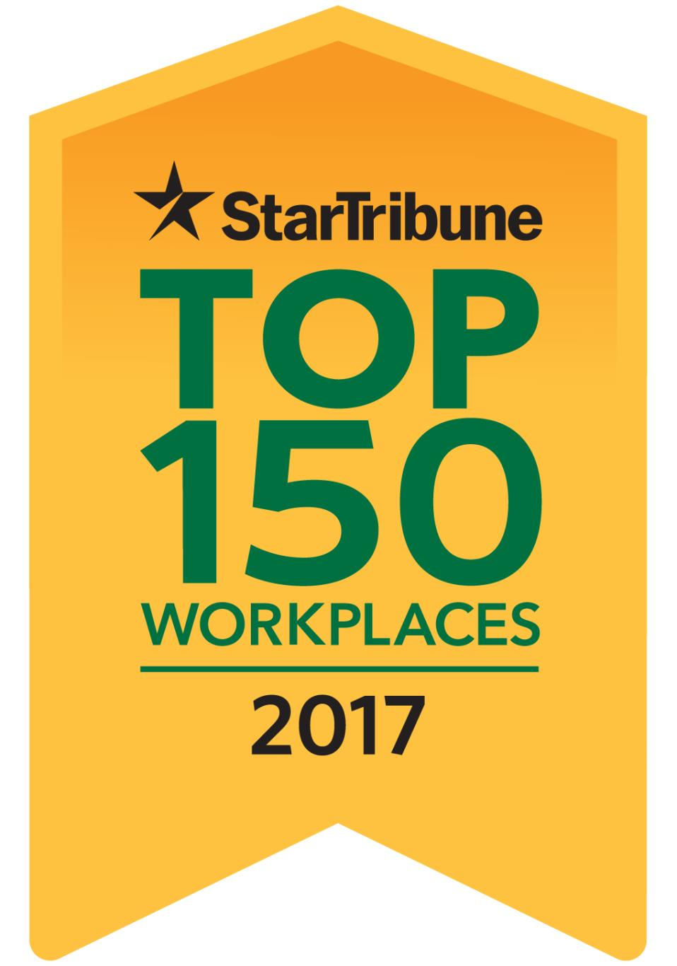 2017 Top 150 Workplaces