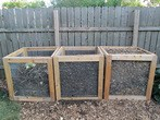 Compost wire bins