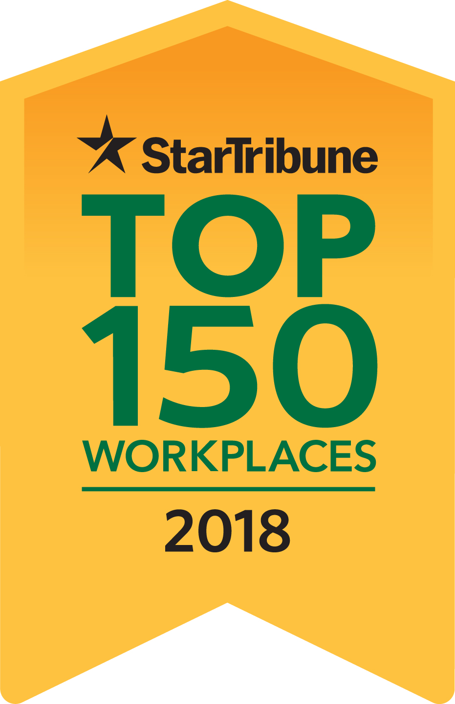 2018 Top 150 Workplaces