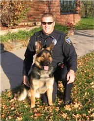 In 2007 Officer Jess Irmiter became a K9 handler with partner Brix.