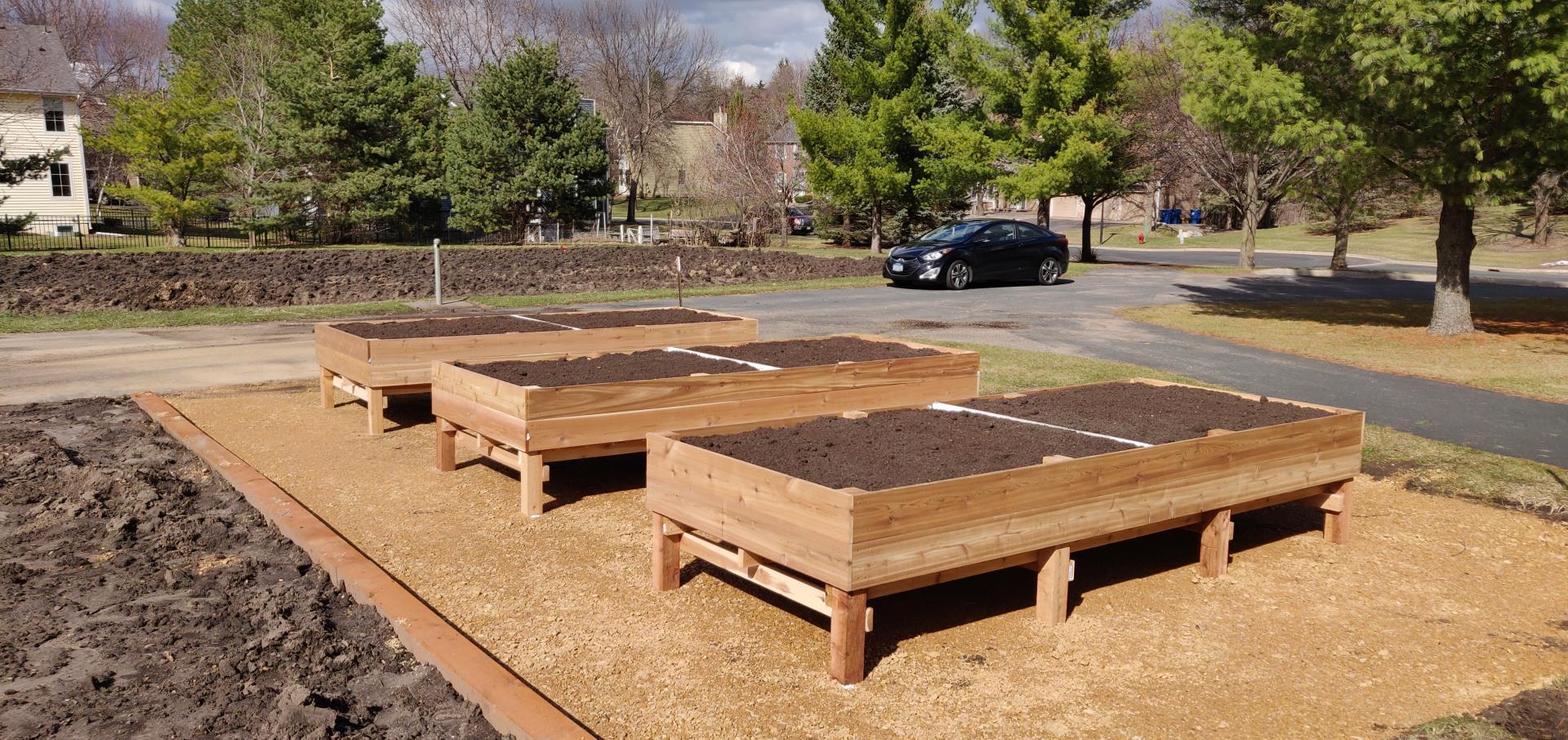 Accessible Community Garden Plots