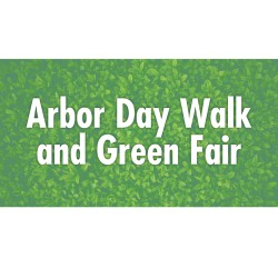 Arbor Day Walk and Green Fair logo