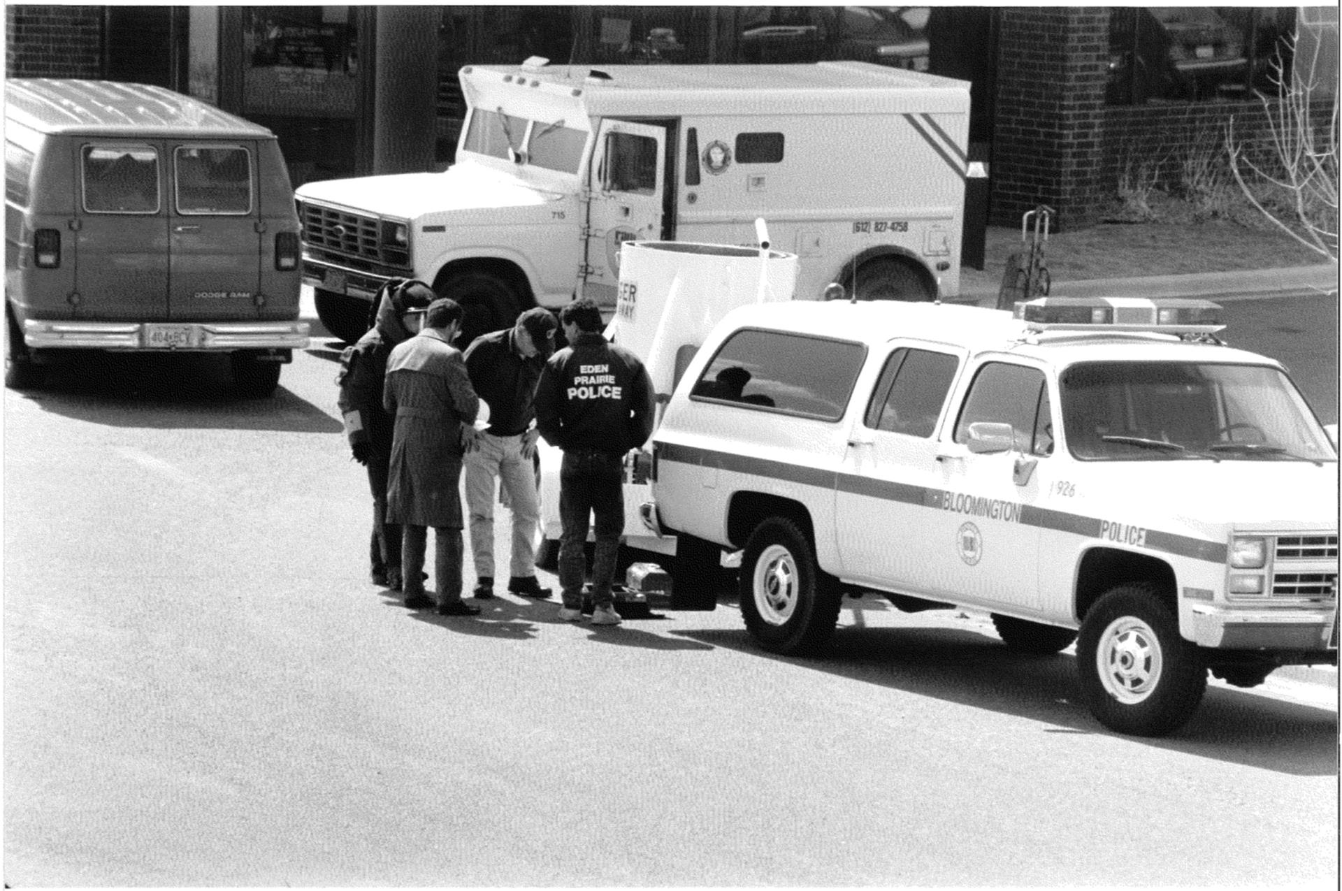 armored truck robbery - cropped