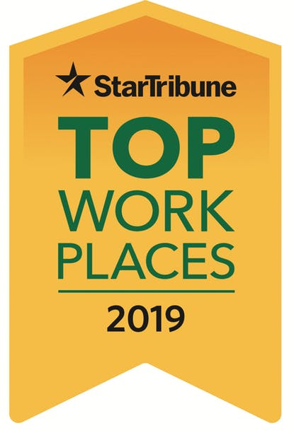 Star Tribune Top 150 Workplaces 2019 logo