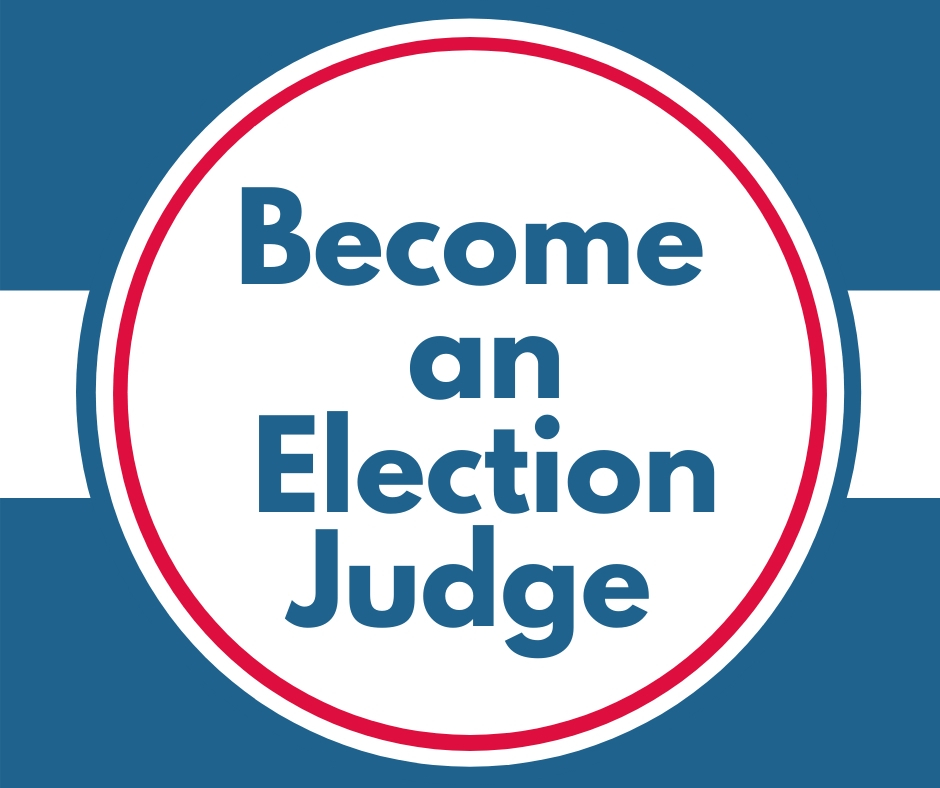 Become an Election Judge graphic