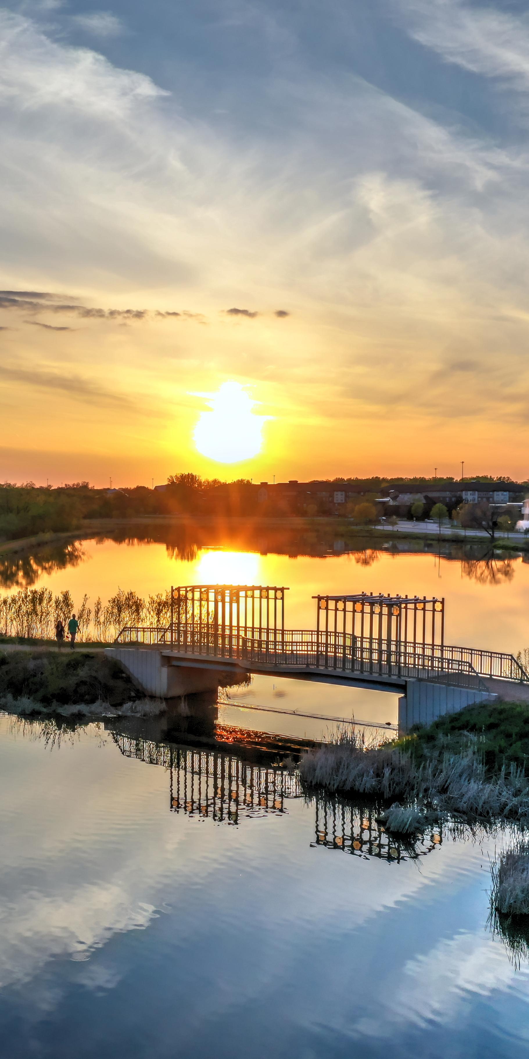 David Gregoire - The Gathering Bridge at Purgatory Creek Park